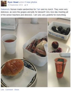 When even a packed lunch is post-worthy, you know you've got the Social Media Bug!