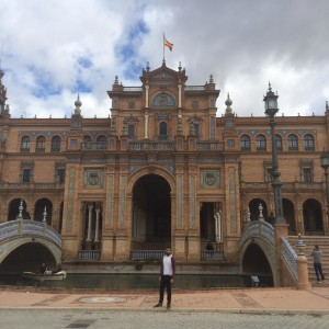 The Famous Plaza De Espana